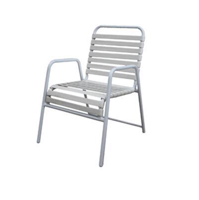 de aluminio completo correa de pvc silla para patio exterior sillon de jardin buy silla de aluminio completa silla con correa de pvc silla de ratan