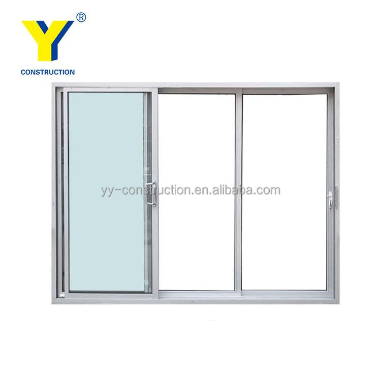 yy aluminium windows as2047 automatic triple glass sliding door standard door size buy triple glass sliding door standard sliding glass door