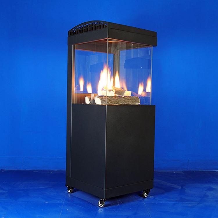 garden terrace glass tube flame pyramid outdoor patio gas heater buy outdoor patio heater stand patio heater pyramid outdoor gas heater product on