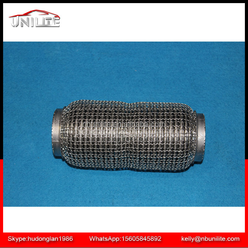 stainless steel flexible exhaust pipe with interlock outer wire meshed id 2 2 1 4 2 1 2 3 buy stainless steel flexible exhaust pipe with