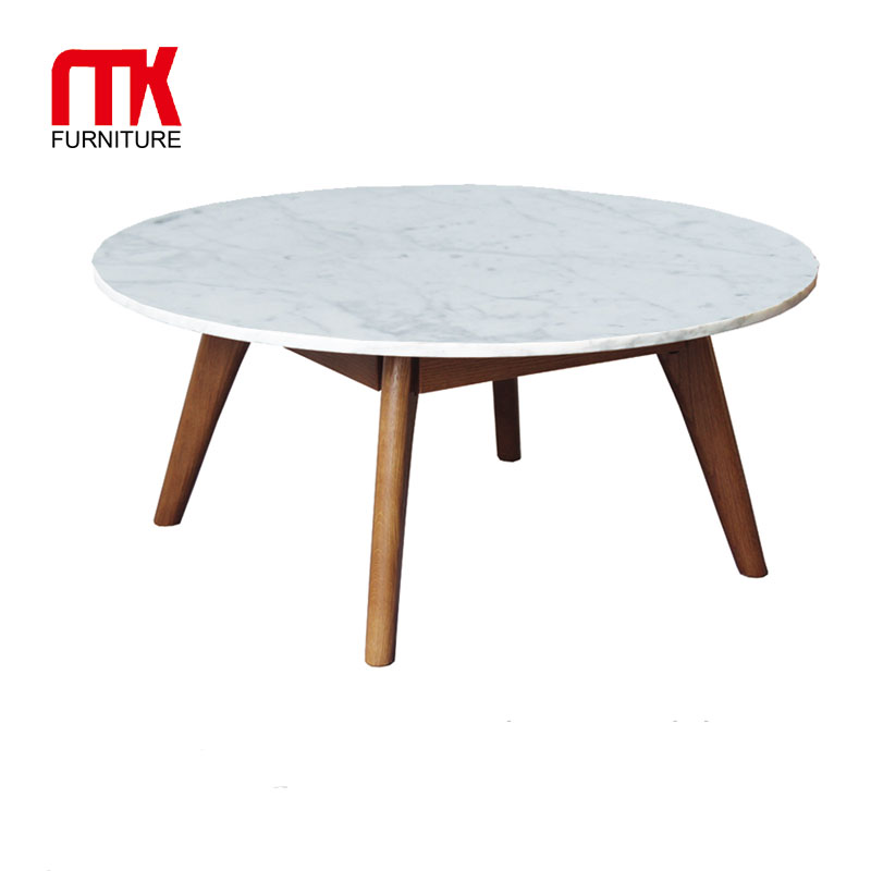 minimalistic round marble coffee table with italian marble top and wood legs buy round marble top coffee table white marble coffee tables three legs
