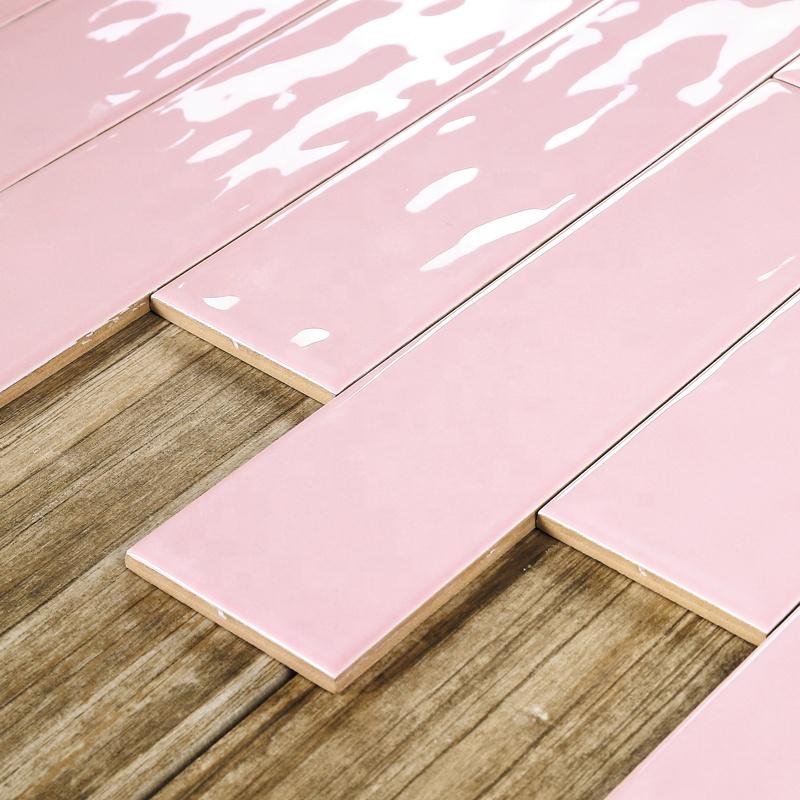medici tile 75x300mm 3 12inch pink colour ceramic wall tile subway tile for bathroom livingroom design buy pink tile pink subway tile pink ceramic