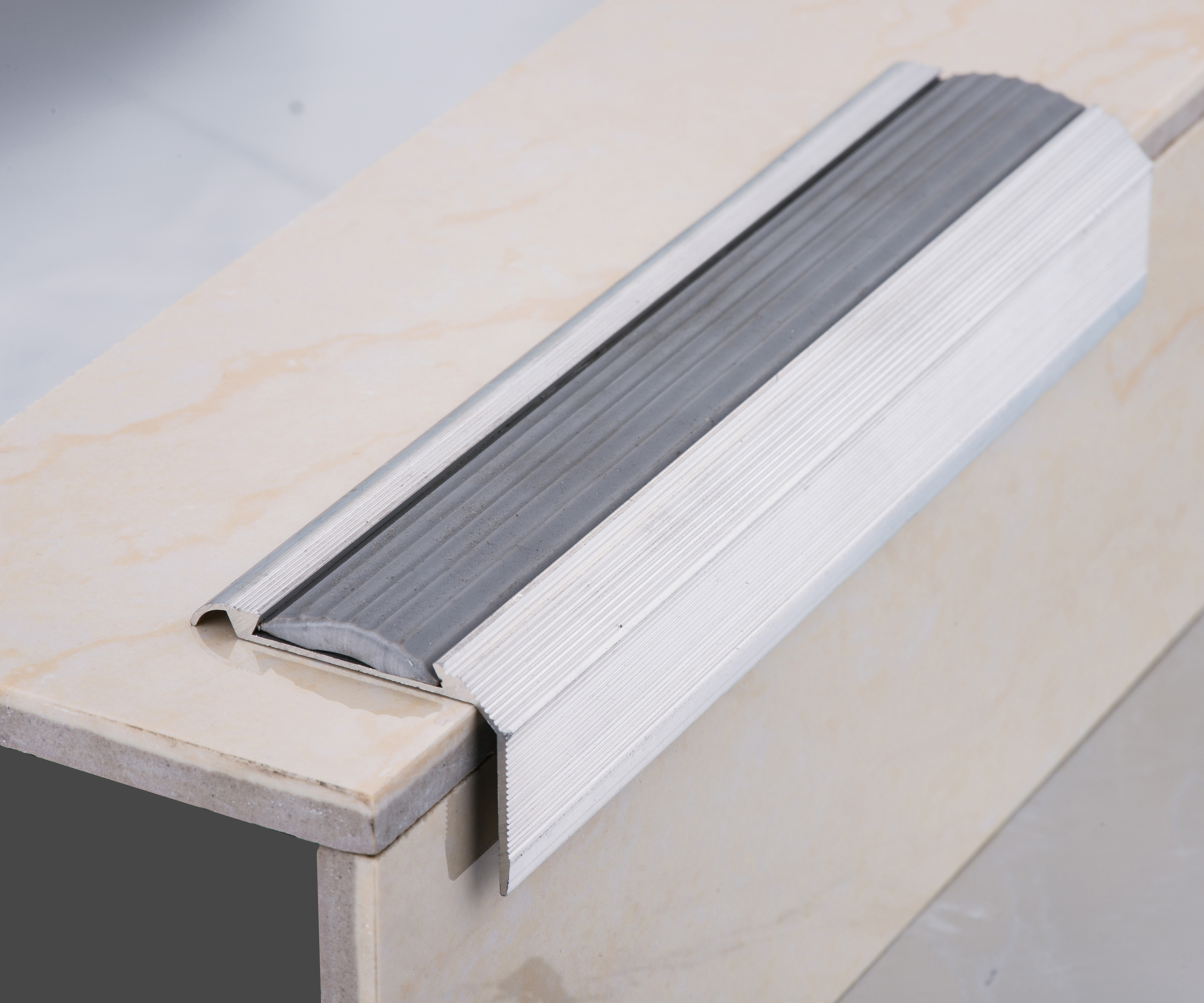 composite stair tread buy composite stair tread ceramic tile stair nosing porcelain tile stair nosing product on alibaba com