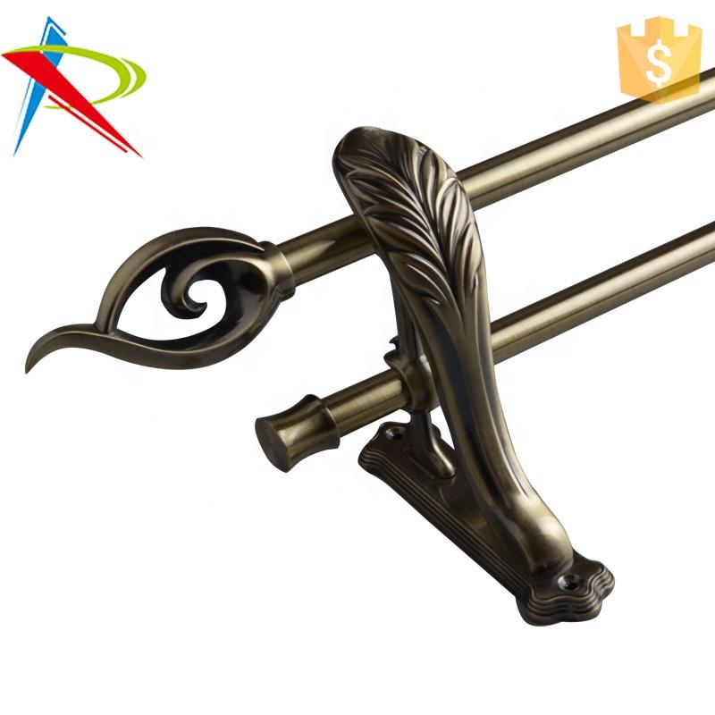 latest bronze dural 19mm strong brackets iron drapery rod pipe designs buy iron drapery rod dural curtain rod brackets latest design strong