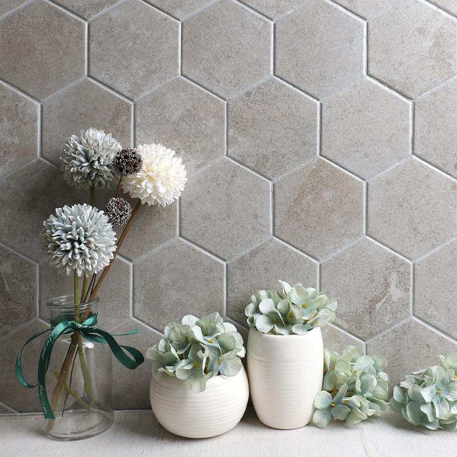 kitchen bathroom wall marble look ceramic honeycomb mosaic backsplash floor tile hexagon buy tile hexagon honeycomb mosaic floor tile hexagon product on alibaba com