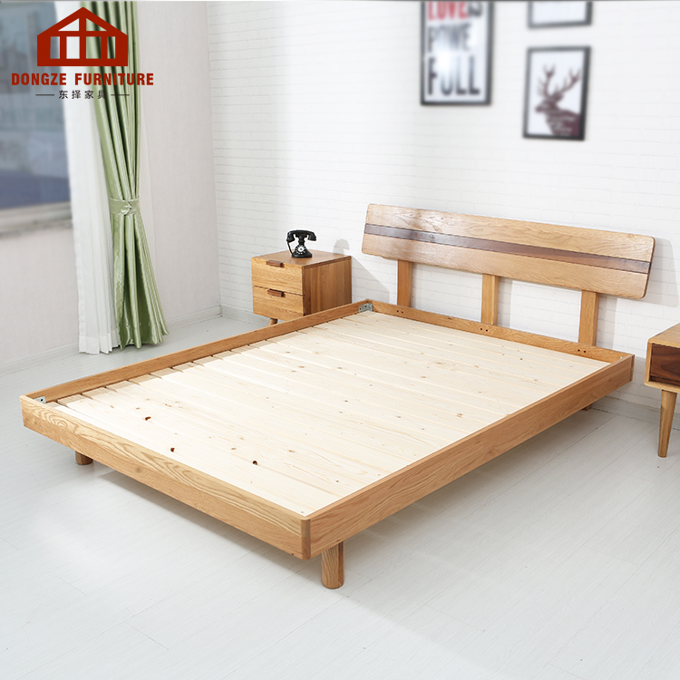 minimalist japanese style latest double bed designs bedroom furniture buy platform bed bed frame wood double bed designs in wood product on