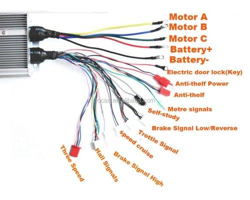 small resolution of  wiring diagram volt electric bike controller on bike motor kit diagram electric trike conversion kits
