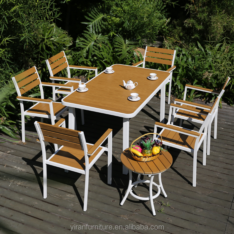 aluminum frame plastic bord dinning chairs and table outdoor garden line products buy white plastic outdoor table and chair cheap plastic tables and