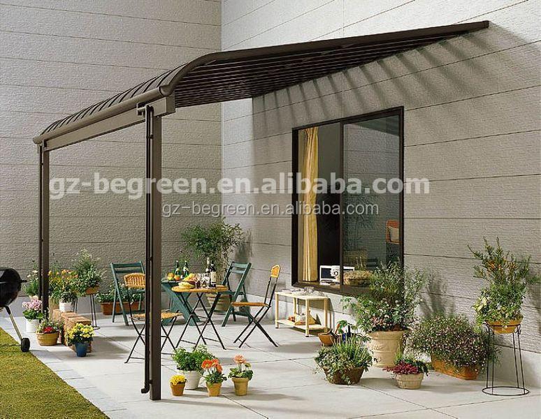 2 5x3 06m easy installation polycarbonate patio cover aluminum pergola gazebo buy aluminum patio covers plastic patio covers balcony patio cover
