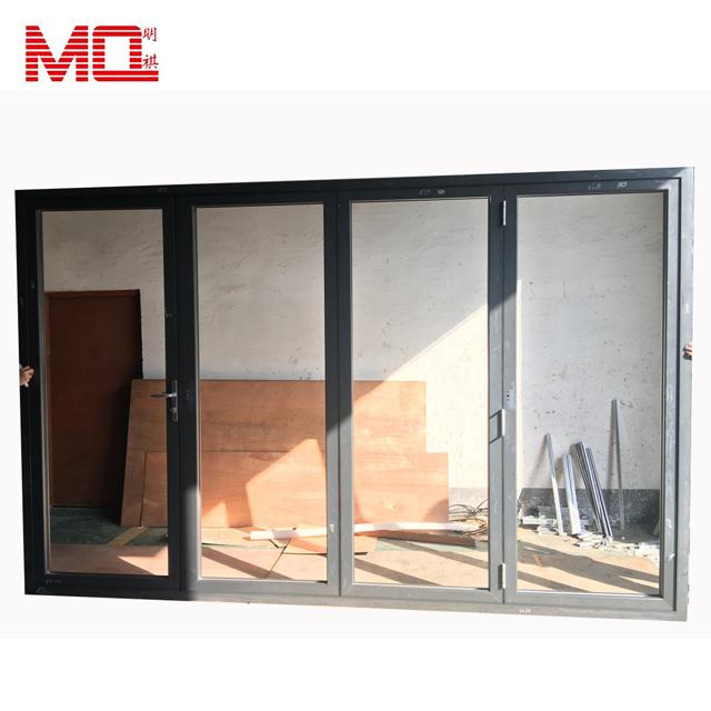 exterior accordion door lowes aluminum frame folding door heat insulated bifold doors view accordion door lowes mq product details from