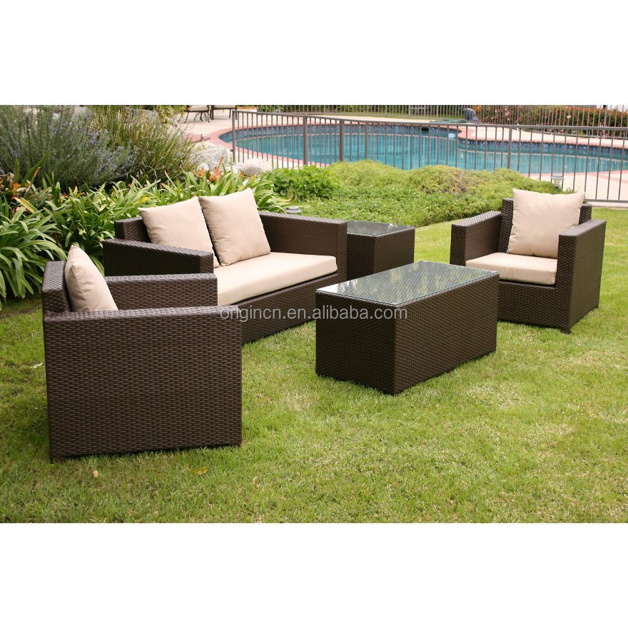 clearance sale steel frame 5 piece wicker cheap lounge set used patio furniture buy used patio furniture cheap patio furniture lounge product on