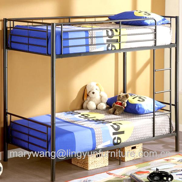 lit superpose en metal argent pour dortoir d ecole robuste double sol en fer buy lits superposes en metal militaire lits superposes en metal pour