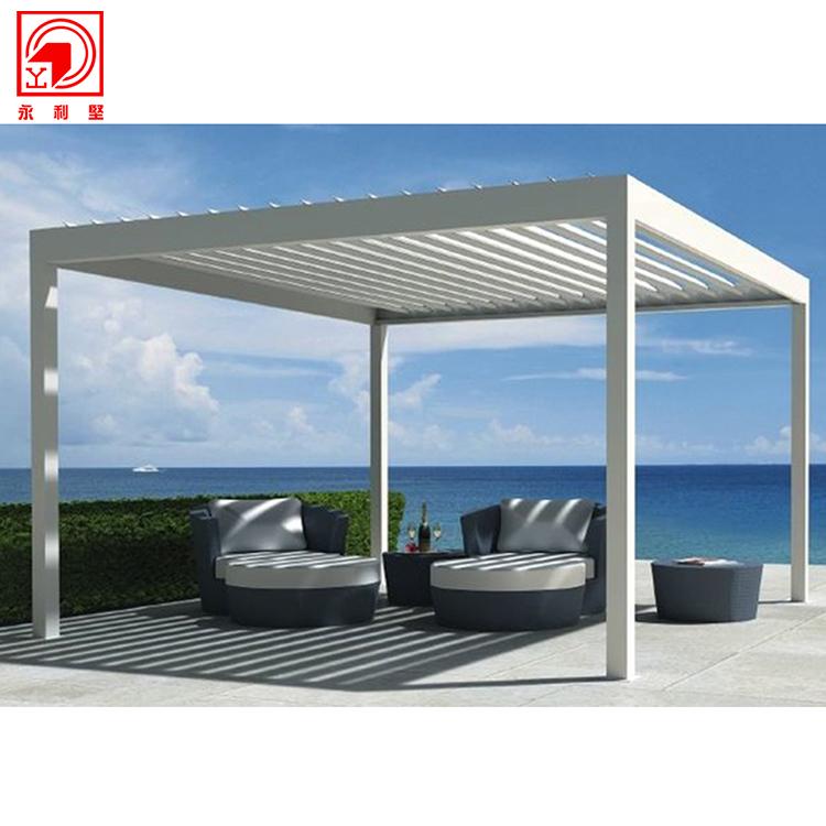 chine bas prix couleur marron pergola 3x3 buy pergola en aluminium 3x3 cabane en aluminium product on alibaba com