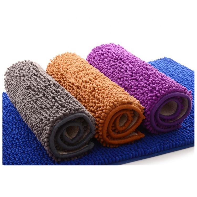 factory direct price non slip microfiber chenille bath rug bath mat buy bath mat microfiber bath mat chenille bath rug product on alibaba com