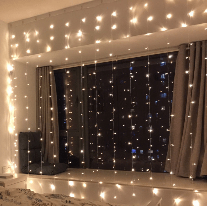 3x2m 3x3m 3x6m led fairy garland curtain chain string lights fairy icicle light curtain hanging backdrop wall lights buy garland curtain light led wall light fairy light curtain product on alibaba com