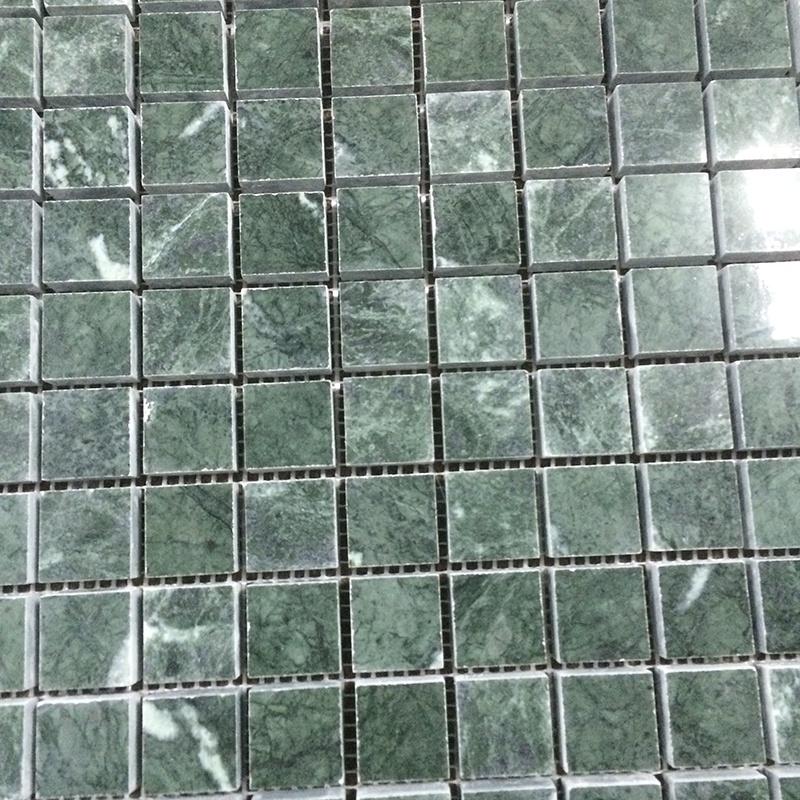 carrelage mosaique en marbre vert emeraude pour mur et sol de la salle de bains buy carre vert emeraude de mosaique de marbre mosaique verte