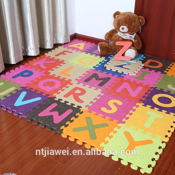 tapis de sol avec motif d alphabet pour bebes nouvelle piece pas cher en mousse eva puzzle de coloriage pour enfants buy tapis de sol pour