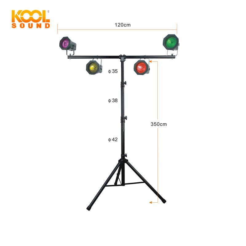 kool sound wholesale heavy duty adjustable metal stage lighting stand ls 410 buy floor light stand adjustable on stage lighting stand heavy duty