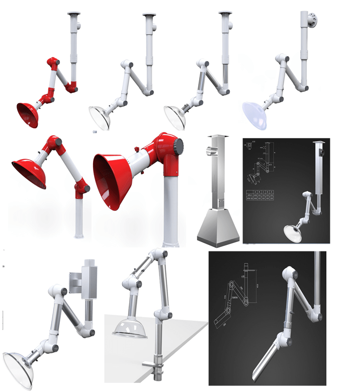 flexible fume extraction arms fume exhaust fume flexible extractor arm buy fume arms dust extraction arm exhaust extraction system product on alibaba com