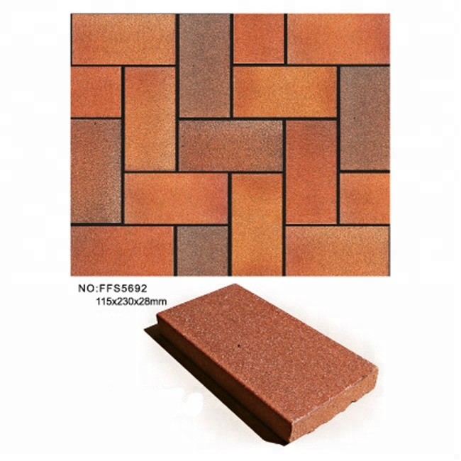 clay material tiles patio brick paver walkway road paving tile buy paving tile walkway brick patio paver product on alibaba com