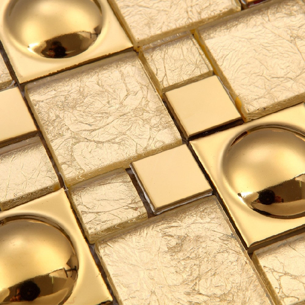 hot sale us style made in china luxury gold leaf glass gold foil mosaic tile buy luxury gold mosaic gold leaf glass mosaic tile gold foil mosaic
