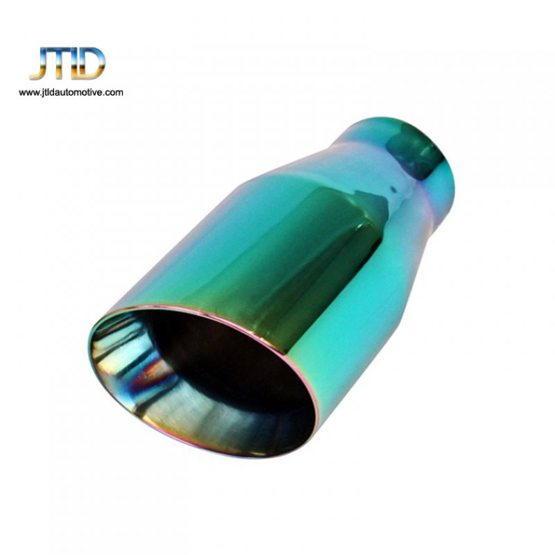 stainless steel green purple double wall slant cut exhaust tip buy exhaust tips exhaust pipe double wall slant cut product on alibaba com