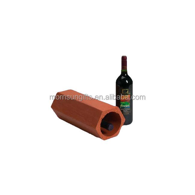 porte bouteille de vin en argile decoration personnalisee pour la maison nouveau buy casier a vin de bouteille simple en terre cuite casier a vin de