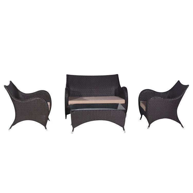 4 pcs wicker cushions patio sets clearance outdoor sofa set garden furniture cube rattan buy garden furniture cube rattan outdoor rattan sofa