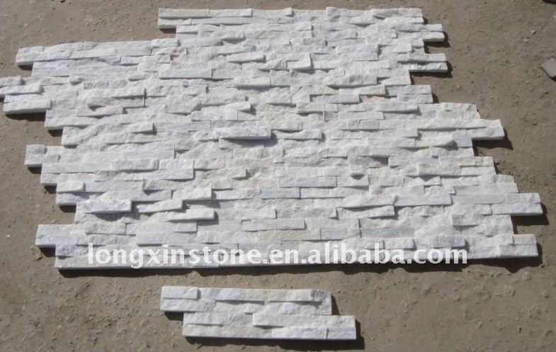 white quartzite culture stone ledger wall tiles with interlocking system buy deco stone wall tile outdoor stone wall tile ledge stone wall tile