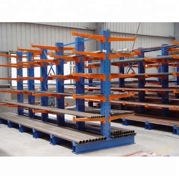 shenzhen warehouse cantilever racking system pipe storage rack buy pipe storage shelving pvc pipe rack pipe cantilevered rack product on alibaba com