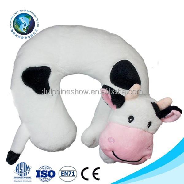 en71 standard baby travel neck pillow soft cute plush cow u shape funny neck pillow buy funny neck pillow travel neck pillow baby neck pillow