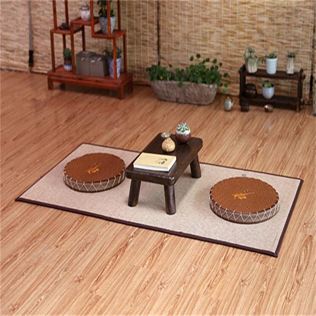 grand tapis de bambou japonais impermeable sur mesure 180x90cm design oriental zen yoga pour dormir chambre a coucher buy matelas en bambou tapis en