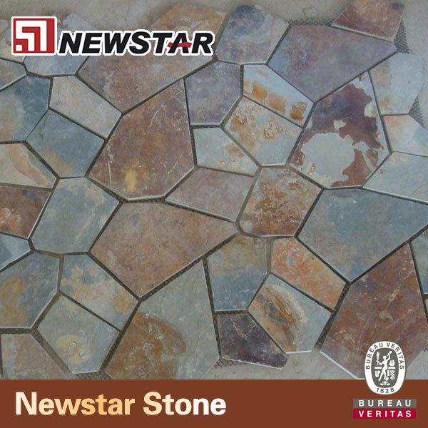 irregular paving stone outdoor slate floor irregular slate tiles buy plastic floor tile irregular slate tiles irregular stone product on alibaba com