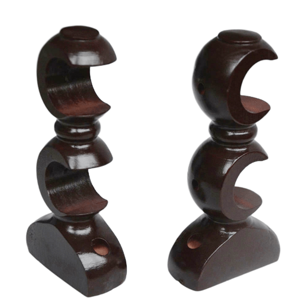 double curtain rod mounting holder 19mm 28mm 35mm wood double curtain pole bracket buy double curtain rod bracket curtain rod bracket double curtain
