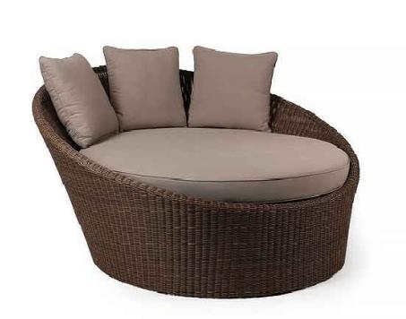 mixarts outdoor patio garden furniture round rattan daybed buy outdoor furniture daybed outdoor round rattan daybed patio daybed product on