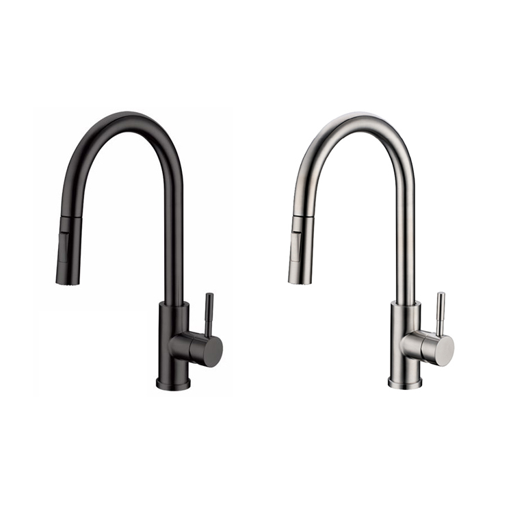 motion sense wave sensor touchless stainless steel kitchen tap pull down kitchen faucet black sus304 buy kitchen faucet single handle faucet touch tap product on alibaba com