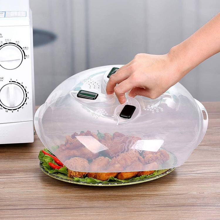 bpa free magnetic splatter guard lid microwave cover hover microwave plate plastic cover buy microwave plate plastic cover microwave cover