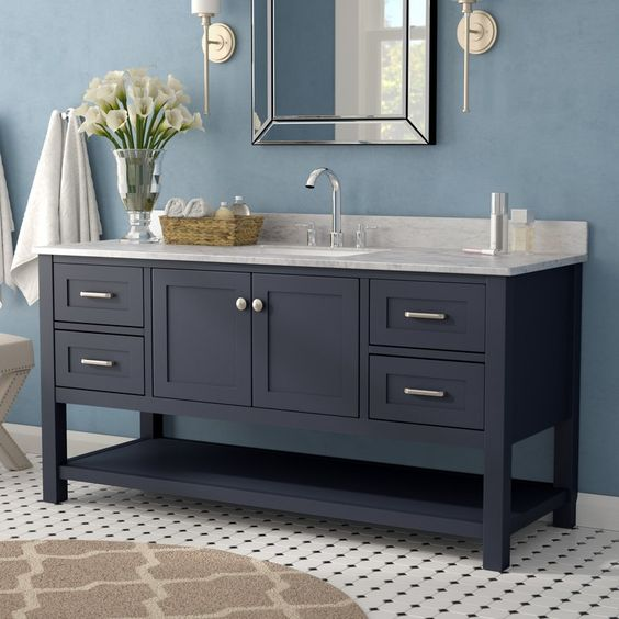 48 inch modern gray wood freestanding small single sink unit bathroom vanities for sale view single sink vanity apex product details from guangzhou