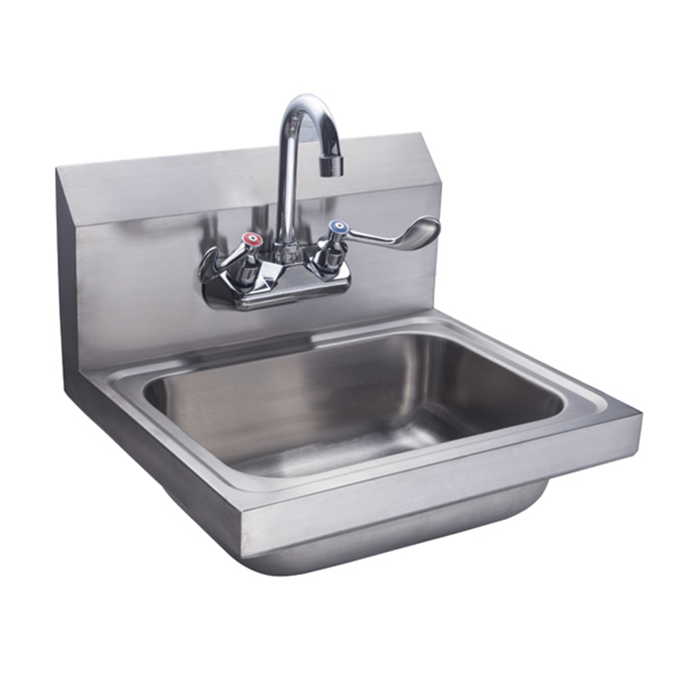 nsf wall mounted commercial catering 304 stainless steel hand sink with backsplash buy catering stainless steel hand sink wall mounted wall hung