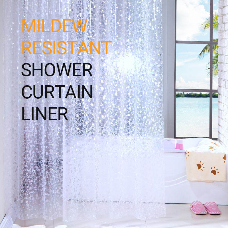 waterproof shower curtain liner eva thick eco friendly mildew resistant shower curtain for shower stall bathtubs buy thick eva shower curtain durable bath transparent shower curtain liner peva kids bathroom showercurtain product on alibaba com