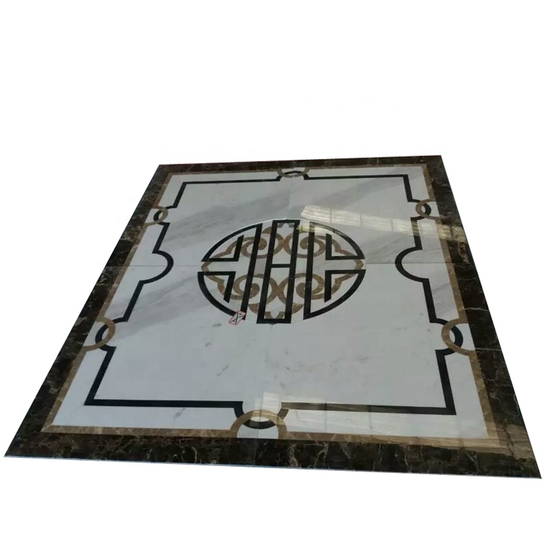 wall marble waterjet floor medallion tile lowes sale buy marble floor medallion waterjet floor medallion wall marble water jet medallion product on