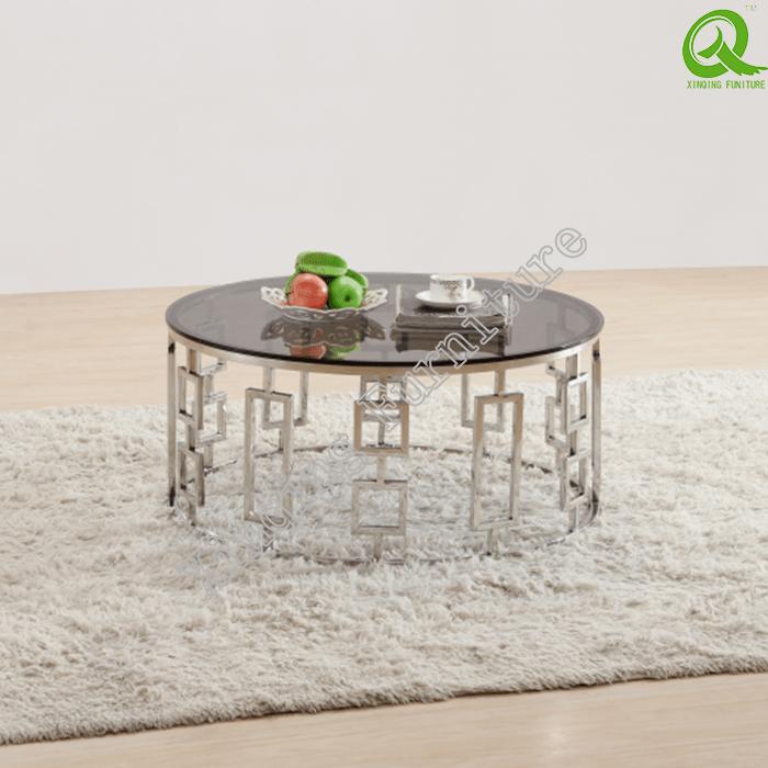 new modern living room stainless steel glass coffee table buy modern coffee table stainless steel coffee table glass coffee table product on
