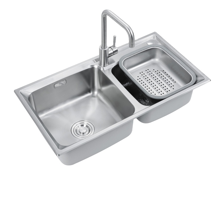 double bowl wash basin kitchen sink with factory price buy double bowl kitchen sink with drainboard basin sink kitchen sink product on alibaba com