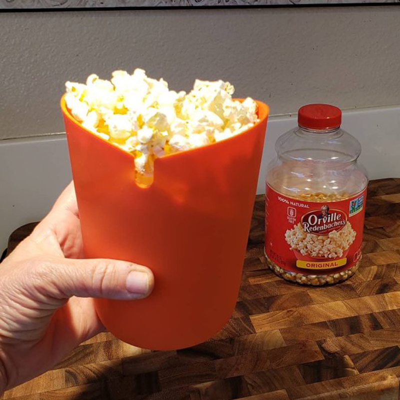 new design food grade reusable silicone folding bucket cup for microwave popcorn holder buy pop corn bucket pop corn bags pop corn maker product on