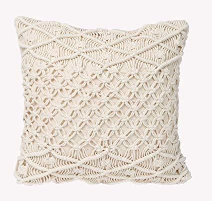 organic macrame pillow cover handwoven macrame cushion cover buy macrame pillow cover organic pillow cover macrame cushion covers product on