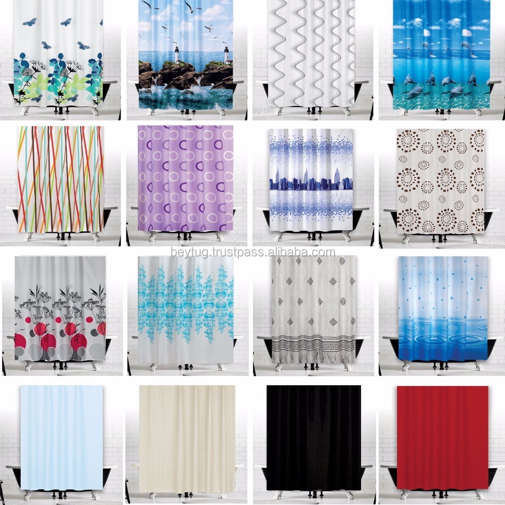 great fabric shower curtains extra wide and long made in turkey polyester buy water proof shower curtain brand new shower curtain printed shower