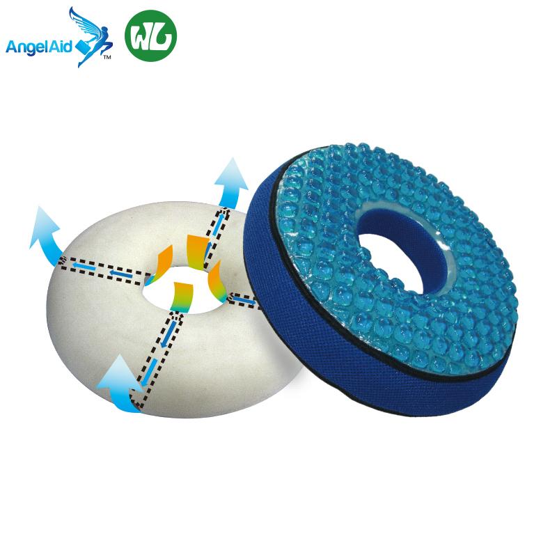 taiwan designer cushion coccyx comfort breathable gel silicone memory foam donut seat cushion for hemorrhoids memory foam gel buy anti hemorrhoids