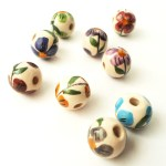 Hot Sellers Peru Glazed Ceramic Beads For Diy Jewelry Hand Painted Flowers Ball Shaped Ceramic Beads Buy Ceramic Flower Beads For Jewellery Making Hand Painted Wooden Beads Round Ceramic Beads Product On Alibaba Com