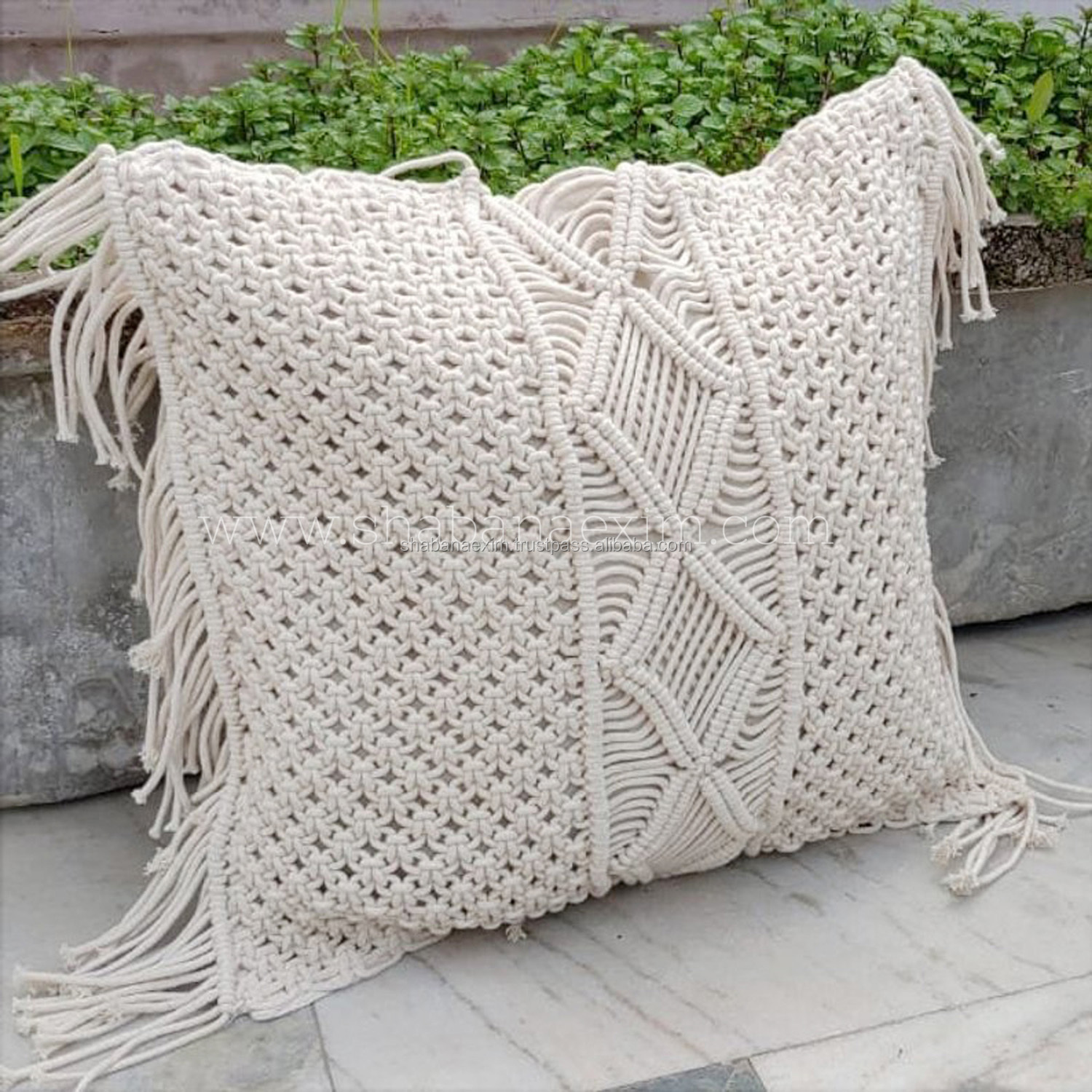 tassel cushion cover macrame cotton cushion cover plain pillow cover luxury buy indian style luxury cushion covers luxury chair cover plain cotton