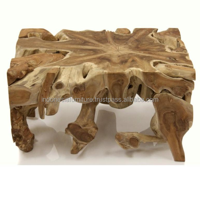 wonderful teak root furniture teak roots coffee table with glass top view rotating glass coffee table bangun joyo furniture product details from cv